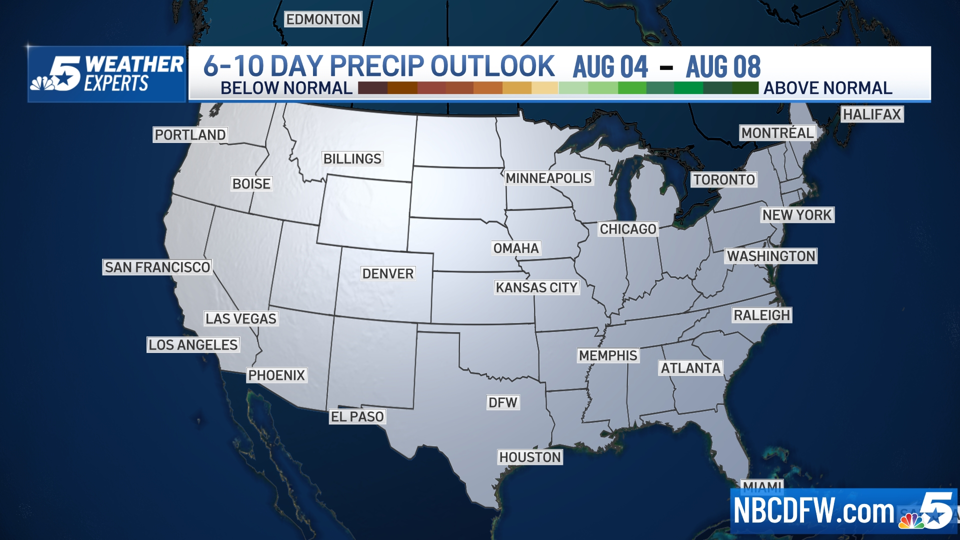6 to 10 Day Outlook - Precipitation