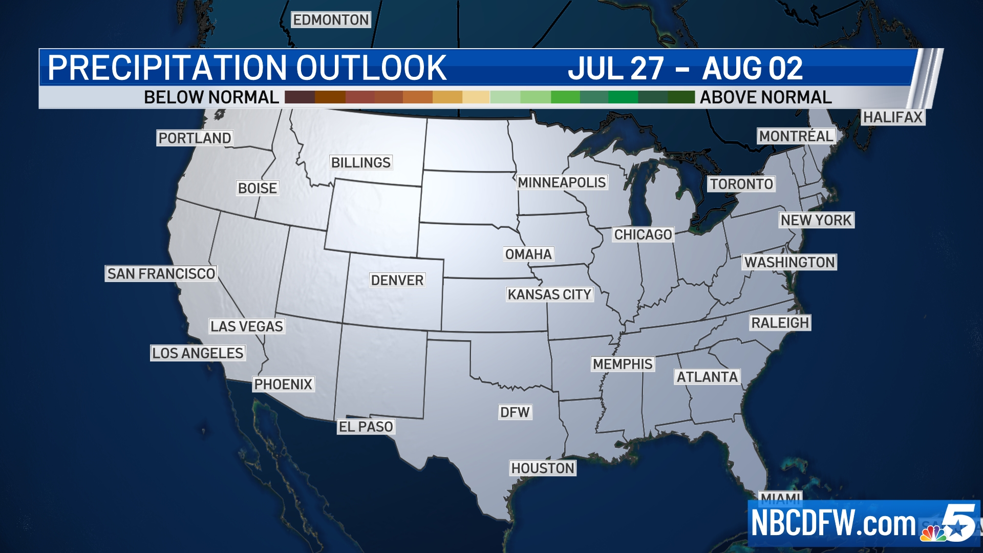 8 to 14 Day Outlook - Precipitation