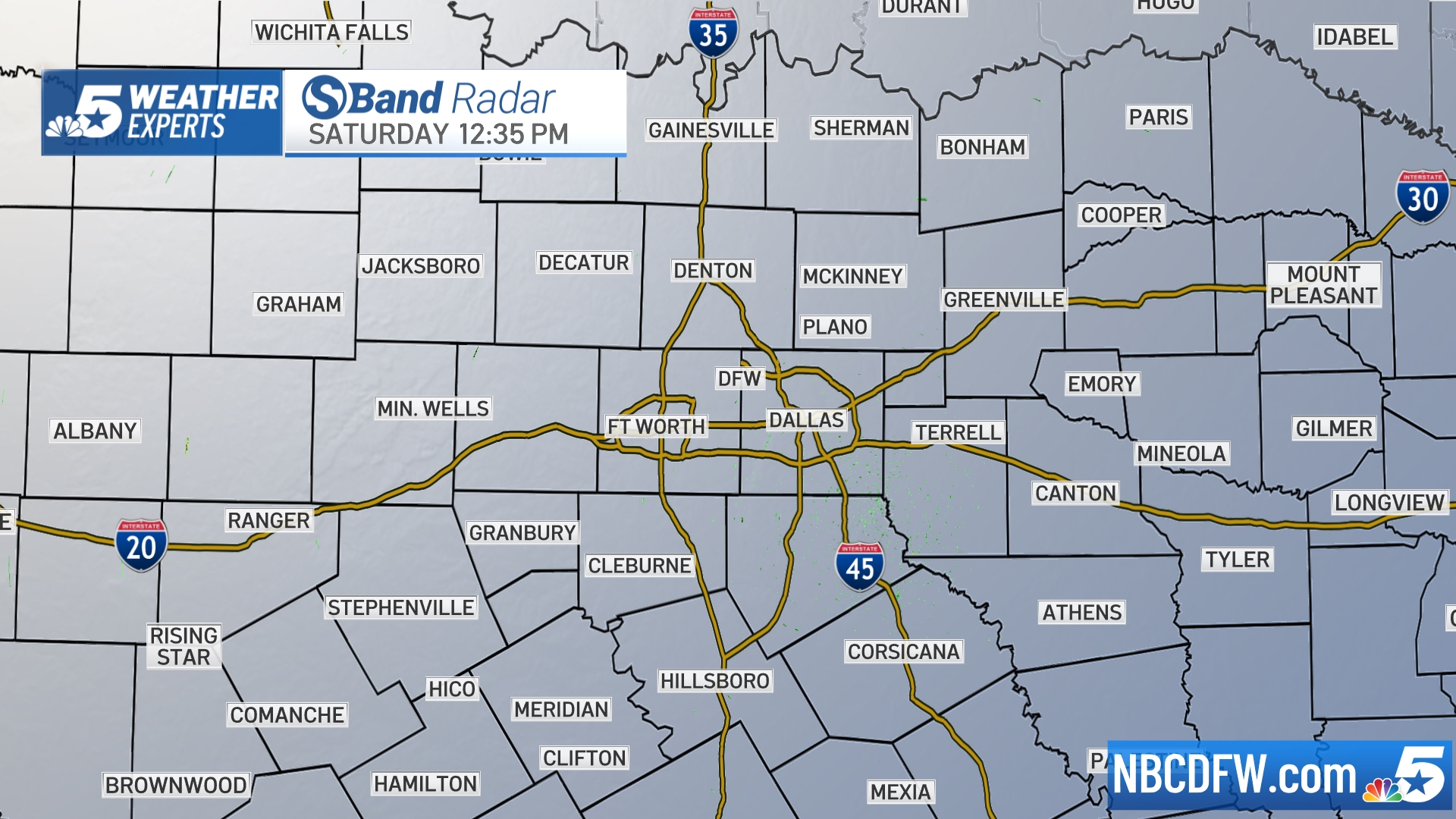 North Texas Radar