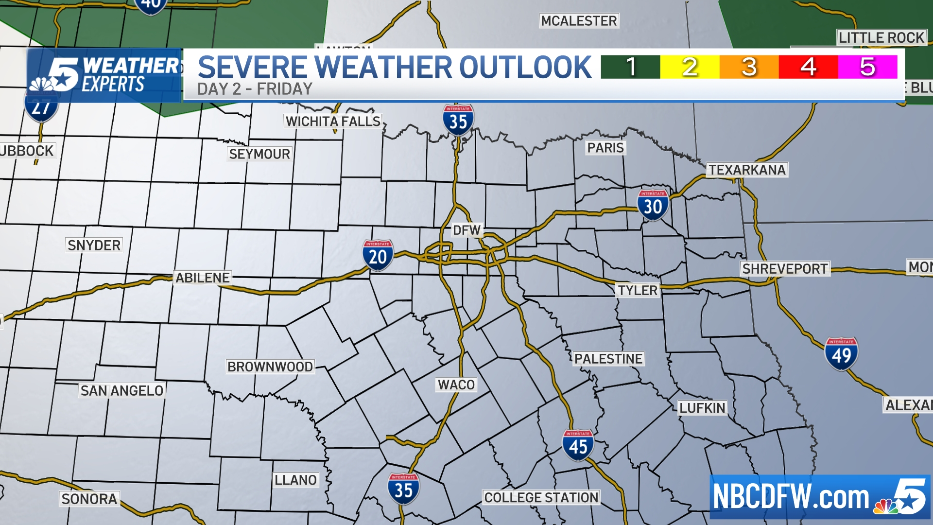 Day 2 Severe Weather Outlook